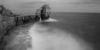 Portland Bill Seascapes in Black and white