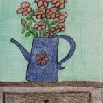 """Flowers in a Water Can"" by jmeraz"