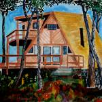 """""""Cabin in the Piney Woods"""" by PaulC"""