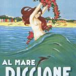 """""""Riccione - Manifesto"""" by andreaspeziali"""