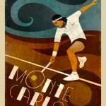 """""""Monte Carlo Vintage Tennis"""" by BenjaminBay"""