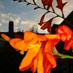 """London Sky & Flower"" by Flaxton-Productions"