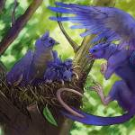"""""""The Tiny Gryphon Family"""" by BlueHobbit"""