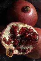 Pomegranate, Still Life, in Natural Light