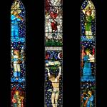 """William Morris stained glass - Staveley, Cumbria"" by Dave_Lawrance_Photography"