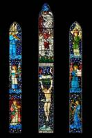William Morris stained glass - Staveley, Cumbria