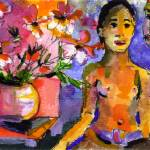 """Homage to Gauguin by Ginette Callaway"" by GinetteCallaway"