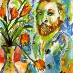 """Homage to VanGogh by Ginette Callaway"" by GinetteCallaway"