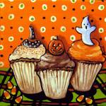 """Fun Halloween Cupcakes"" by reniebritenbucher"
