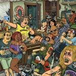 """Pittsburgh Nuisance Bars"" by mariozuccaillustration"