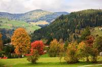 Autumn in Wagrain, Austria