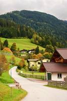The wonderful scenery around Wagrain, Austria