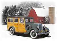 Woodie Winterland (1934 Ford)