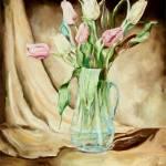 """Tulips"" by ArtByDianeKraudelt"