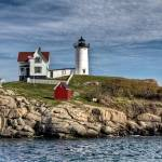 """Cape Neddick Light"" by BeautifullyScene"