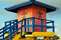 Lifeguard Tower at South Pointe, West