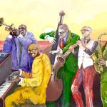 """Super Jazz Band"" by Gaucho"