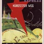 """Intourist. Transsiberian express"" by SovietArt"