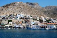 Greek Island Harbour