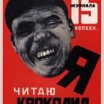 """I read the Crocodile magazine"" by SovietArt"