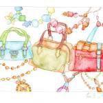 """Handbags Fair"" by GalleryEvaB"