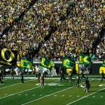 """Oregon Ducks Flags"" by netbrands"