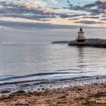 """Spring Point Ledge Light v.3"" by BeautifullyScene"