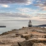 """Spring Point Ledge Light v.2"" by BeautifullyScene"