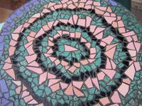 Mosaic Cafe Table at YJ's II