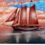 """Red Sails At Key West Sunset"" by Eduardo828"