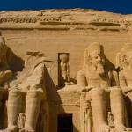 """Abu Simbel Front View"" by FindleyPhoto"