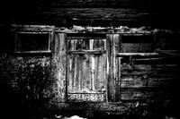 Old wooden hut
