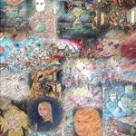 """paintings patchwork draw"" by LaurentAubin"