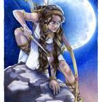 """""""Artemis Bound"""" by MelMillerArt"""