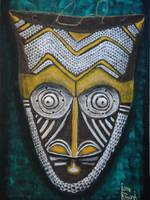 Bakuba Dance Mask