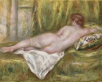 Rest after the Bath by Renoir