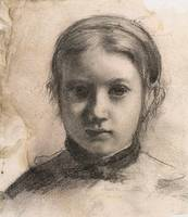 Edgar Degas Portrait of Giovannina Bellelli
