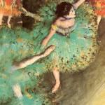 Edgar Degas The Green Dancer by Leo KL