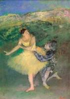 Edgar Degas Harlequin and Colombine