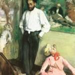 """Edgar Degas Portrait of Henri Michel Levy"" by oldies"