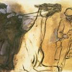 """Edgar Degas Horse and Rider"" by oldies"