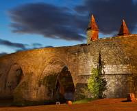 Old Stirling Bridge at Night