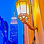 """Lamp Post Empire State Building"" by LocalStockPhoto"