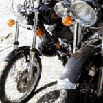 """Motor Bike Photo Mosaic"" by LocalStockPhoto"