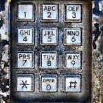 """Pay Phone Keypad Photo Mosaic"" by LocalStockPhoto"