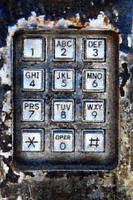 Pay Phone Keypad Photo Mosaic