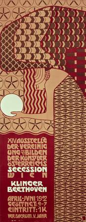 Poster for the 14th Exhibition of Vienna Secession