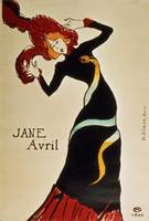 Jane Avril by Henri de Toulouse-Lautrec