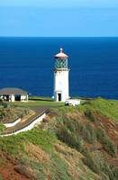 Kilauea lighthouse in Kauai, Hawaii