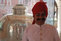 Guard at City Palace, Jaipur